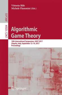 Algorithmic Game Theory, Buch