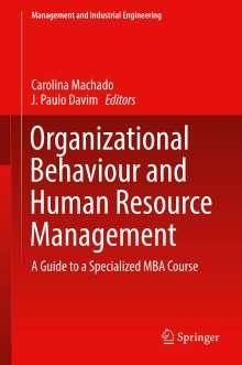 Organizational Behaviour and Human Resource Management, Buch