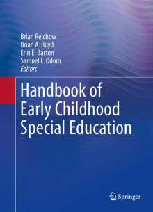 Handbook of Early Childhood Special Education, Buch