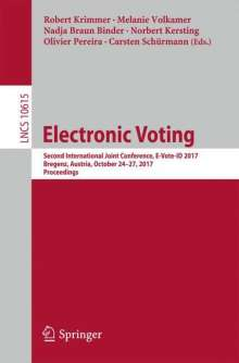 Electronic Voting, Buch