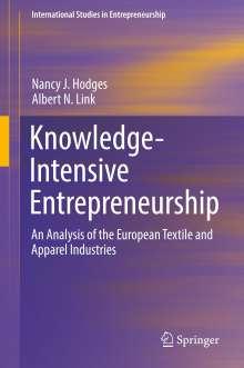 Nancy J. Hodges: Knowledge-Intensive Entrepreneurship, Buch