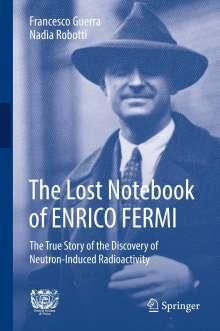 Francesco Guerra: The Lost Notebook of ENRICO FERMI, Buch