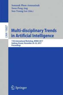 Multi-disciplinary Trends in Artificial Intelligence, Buch