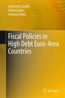 Antonella Cavallo: Fiscal Policies in High Debt Euro-Area Countries, Buch