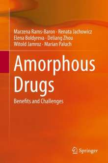 Elena Boldyreva: Amorphous Drugs, Buch