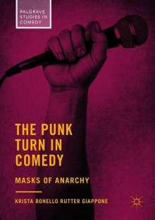 Krista Bonello Rutter Giappone: The Punk Turn in Comedy, Buch