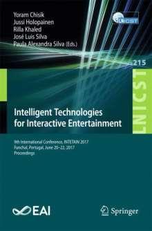 Intelligent Technologies for Interactive Entertainment, Buch