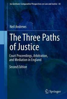 Neil Andrews: The Three Paths of Justice, Buch