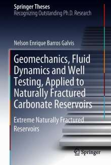 Nelson Enrique Barros Galvis: Geomechanics, Fluid Dynamics and Well Testing, Applied to Naturally Fractured Carbonate Reservoirs, Buch