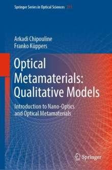 Arkadi Chipouline: Optical Metamaterials: Qualitative Models, Buch