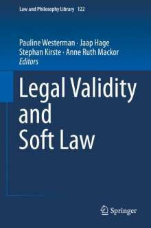 Legal Validity and Soft Law, Buch