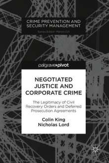 Colin King: Negotiated Justice and Corporate Crime, Buch
