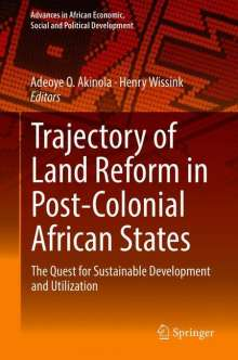 Trajectory of Land Reform in Post-Colonial African States, Buch