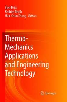 Thermo-Mechanics Applications and Engineering Technology, Buch