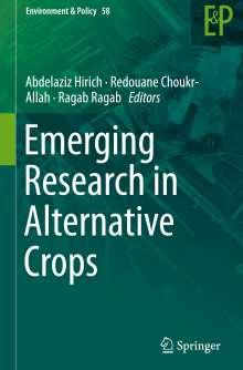 Emerging Research in Alternative Crops, Buch