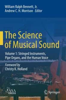 William Ralph Bennett Jr.: The Science of Musical Sound, Buch