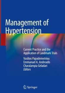 Management of Hypertension, Buch