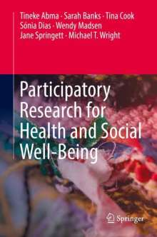 Tineke Abma: Participatory Research for Health and Social Well-Being, Buch