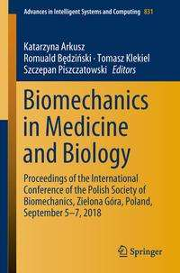 Biomechanics in Medicine and Biology, Buch