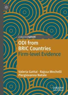 Valeria Gattai: ODI from BRIC Countries, Buch