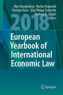 European Yearbook of International Economic Law 2018, Buch