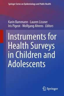 Instruments for Health Surveys in Children and Adolescents, Buch