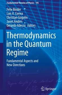 Thermodynamics in the Quantum Regime, Buch