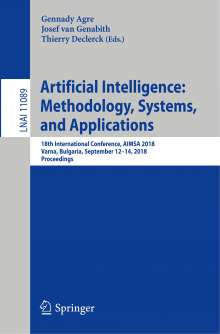 Artificial Intelligence: Methodology, Systems, and Applications, Buch