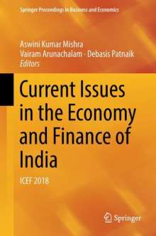 Current Issues in the Economy and Finance of India, Buch