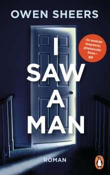Owen Sheers: I Saw a Man, Buch