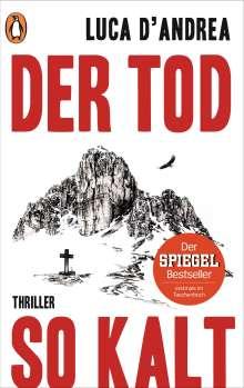 Luca D'Andrea: Der Tod so kalt, Buch