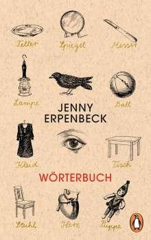 Jenny Erpenbeck: Wörterbuch, Buch