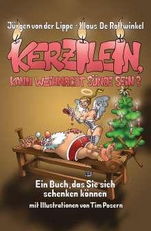 Jürgen von der Lippe: Kerzilein, kann Weihnacht Sünde sein?, Buch