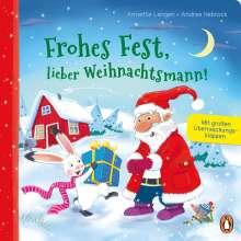 Annette Langen: Frohes Fest, lieber Weihnachtsmann!, Buch