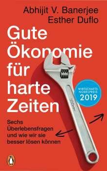 Esther Duflo: Gute Ökonomie für harte Zeiten, Buch