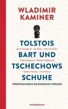 Wladimir Kaminer: Tolstois Bart und Tschechows Schuhe, Buch
