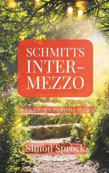 Simon Sprock: Schmitts Intermezzo, Buch