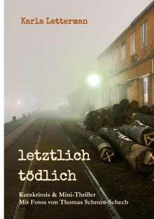 Karla Letterman: letztlich tödlich, Buch