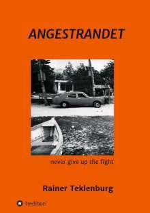Rainer Teklenburg: Angestrandet, Buch