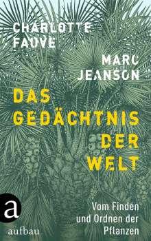 Marc Jeanson: Das Gedächtnis der Welt, Buch
