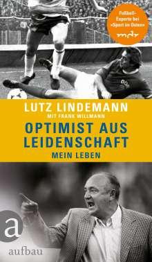 Frank Willmann: Optimist aus Leidenschaft, Buch