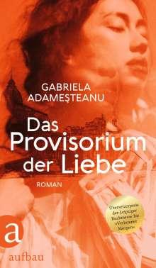 Gabriela Adamesteanu: Das Provisorium der Liebe, Buch