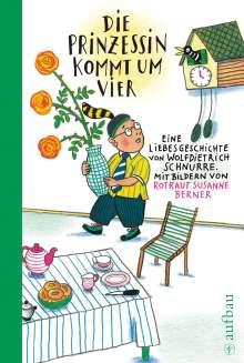 Rotraut Susanne Berner: Die Prinzessin kommt um vier, Buch
