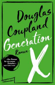 Douglas Coupland: Generation X, Buch
