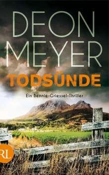 Deon Meyer: Todsünde, Buch