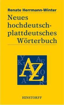 Renate Herrmann-Winter: Neues hochdeutsch-plattdeutsches Wörterbuch, Buch