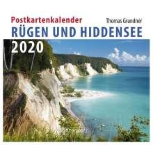 Thomas Grundner: Rügen/Hiddensee 2020 Postkartenkalender, Diverse