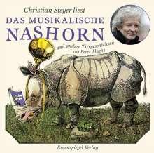 Peter Hacks: Das musikalische Nashorn und andere Tiergeschichten, CD
