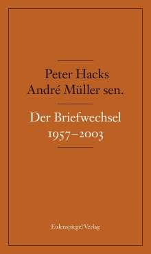 André Müller: Briefwechsel 1957-2003, Buch