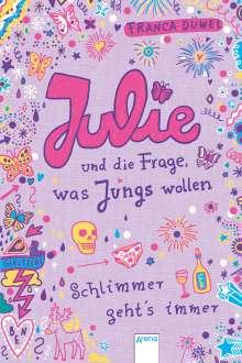 Franca Düwel: Julie und die Frage, was Jungs wollen, Buch